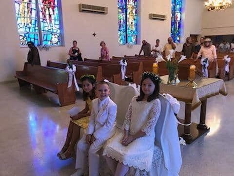 First Communion 2018-9