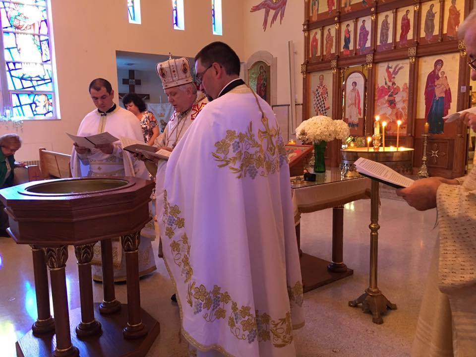 Ernest Mykhaylo Baptism 2